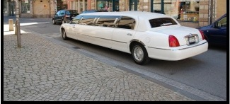 Hire stretch limousine