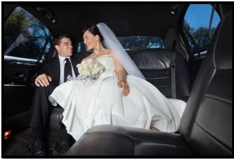 Limousine wedding rental