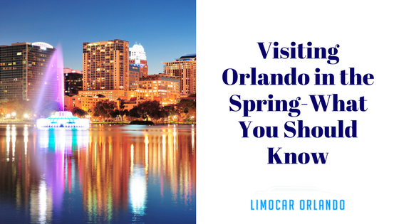 Visiting Orlando in the Spring